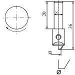Diamantwerkzeuge für Vertikal Spindel